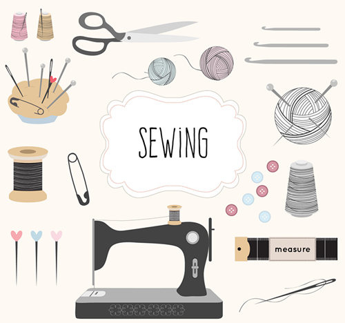 手工缝纫机修补一把【第90期咨道一图】